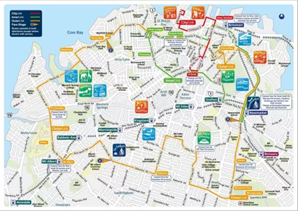 【新西兰奥克兰出行】在奥克兰乘坐交通工具,怎样才能省钱? - 奥克兰出行交通图|熊猫速汇 PandaRemit