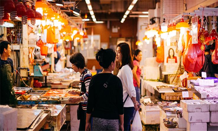 【香港匯款大陸】香港中西區:太平山頂喊你來看夜景—生活區市場| 熊貓速匯Pandaremit