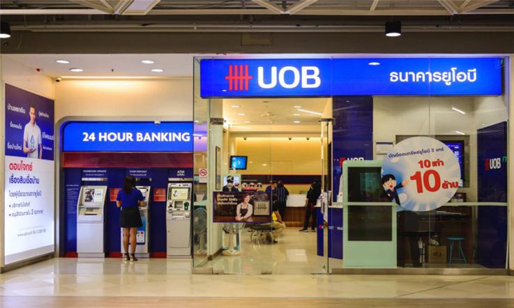 【新加坡汇款中国】新加坡玻璃市---勿洛—UOB分行|熊猫速汇Pandaremit
