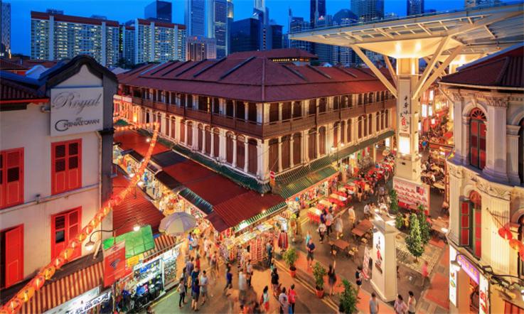 【新加坡汇款中国】新加坡华人圈:最具风味的牛车水—牛车水市集|熊猫速汇Pandaremit