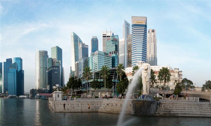 【新加坡汇款中国】狮城梦开始的地方:旅游度假胜地滨海湾—新加坡鱼狮尾公园|熊猫速汇Pandaremit