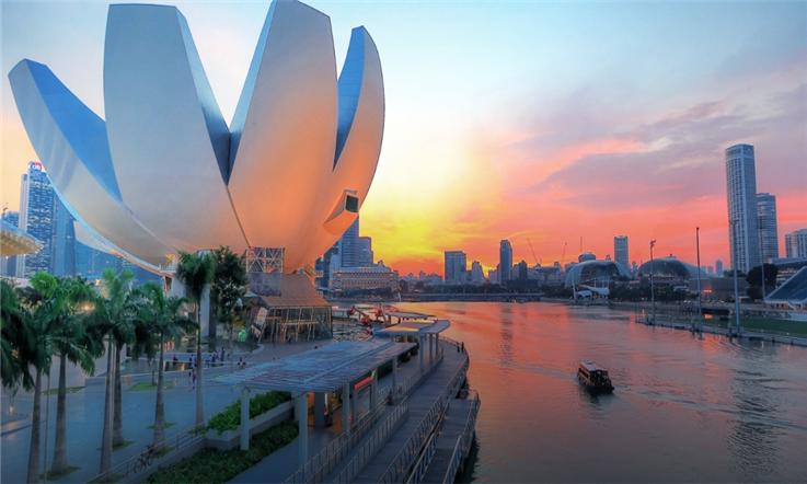 【新加坡汇款中国】狮城梦开始的地方:旅游度假胜地滨海湾—新加坡滨海湾公园|熊猫速汇Pandaremit