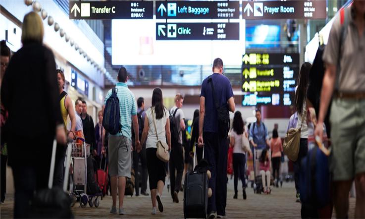 【新加坡汇款中国】新加坡樟宜:全球最美机场—新加坡樟宜机场|熊猫速汇Pandaremit
