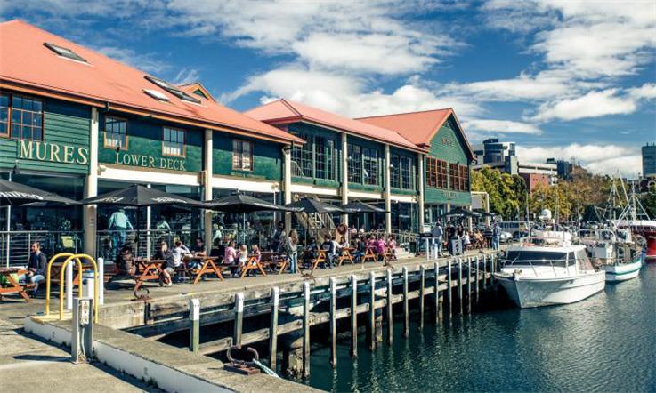 【澳大利亚汇款中国】澳大利亚历史下的首府城市:霍巴特—霍巴特港口|熊猫速汇Pandaremit